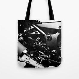 Kawasaki Ninja Motorcycle Wall Art V Tote Bag
