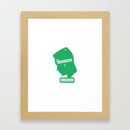 Freshest Framed Art Print