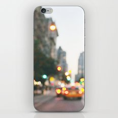 New York City Blur iPhone & iPod Skin
