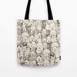 just alpacas natural Tote Bag