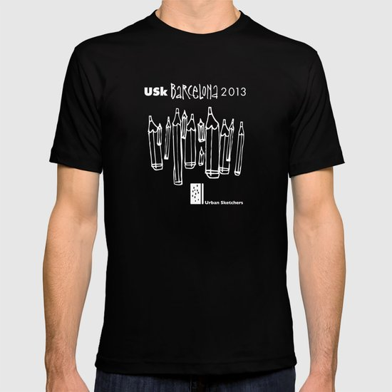 Urban Sketchers USk BCN 2013 T-shirt