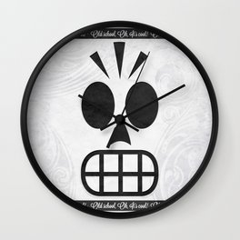 GRIM FANDANGO - OLD SCHOOL, OH, IT'S COOL! Wall Clock