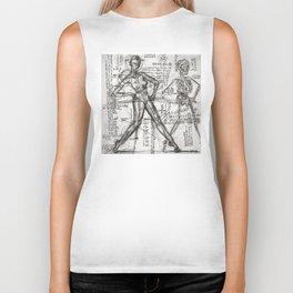 Clone Death - Intaglio / Printmaking Biker Tank