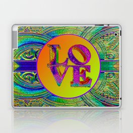 LOVE IN THE TIME OF ART DECO Laptop & iPad Skin