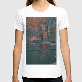 Romanian forest in autumn T-shirt