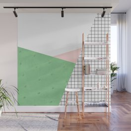 its simple IV   cactus edition Wall Mural