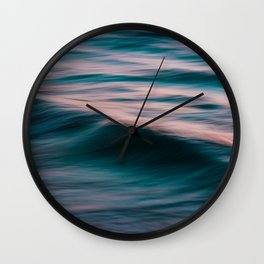 The Uniqueness of Waves XV Wall Clock