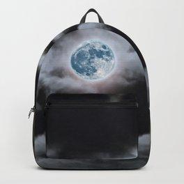 Blue Moon I Wonder Backpack