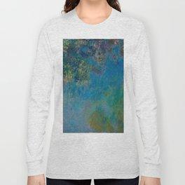 Wisteria by Claude Monet 1925 Long Sleeve T-shirt