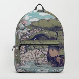 Spirited among the Dragonflies Backpack