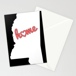 Mississippi Is My Home USA State Pride Stationery Cards
