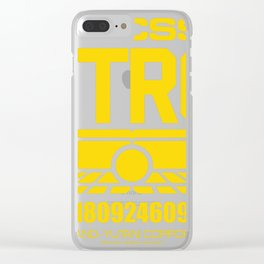 USCSS Nostromo Clear iPhone Case