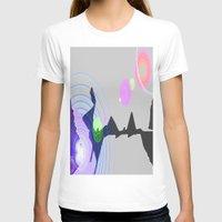 plain T-shirts featuring Distant Plain by Lior Blum