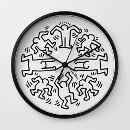 Keith Haring: The Radiant Baby Wall Clock