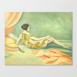 A Savage Beauty Canvas Print