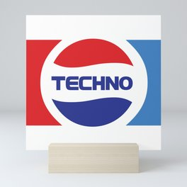 Techno Soda Mini Art Print