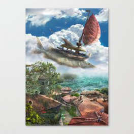Corsairs from Sirocco Canvas Print