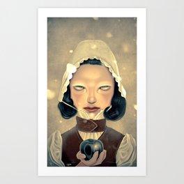 Snowhite Art Print