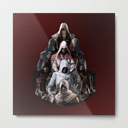 Assassin's Creed Mix Metal Print