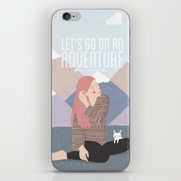 Let's go on an adventure iPhone Skin