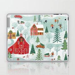New England Christmas Laptop & iPad Skin