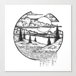 Little islands Canvas Print