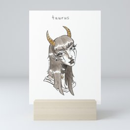 Taurus Mini Art Print
