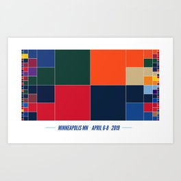 2019 Color Madness Art Print