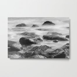 Backshore, Peaks Island Maine. Metal Print