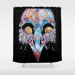 Bird Tears Shower Curtain