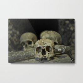 Skulls & Bones Metal Print