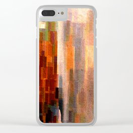 Binnenalster with fountain Clear iPhone Case