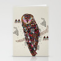 kris tate Stationery Cards featuring HATKEE Collaboration by Kyle Naylor and Kris Tate by Kyle Naylor