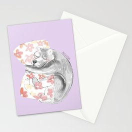 Would you be my sleepy bear? #3 Stationery Cards