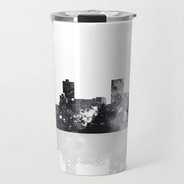 Anchorage, Alaska Skyline BG Travel Mug