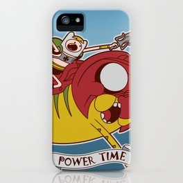 Power Time iPhone Case