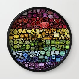 Gem Collection Wall Clock
