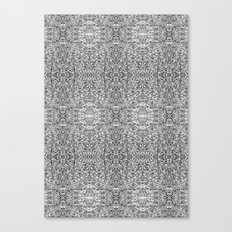 Hectic Inverted Canvas Print