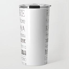 Maha Mantra Travel Mug