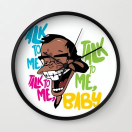 Talk to Me, Stacy Wall Clock
