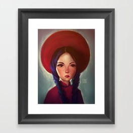 Em Framed Art Print