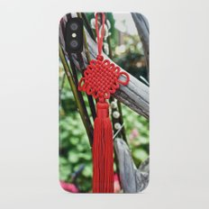 Chinese Knot (Red) Slim Case iPhone X