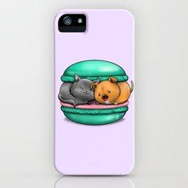 Macaron Cuddles iPhone Case