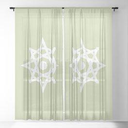 Mini Star Mandala Sheer Curtain