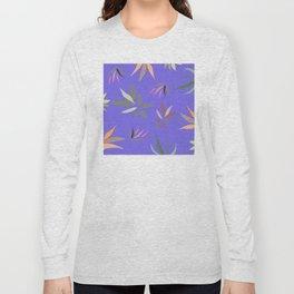 Native Leaves Long Sleeve T-shirt