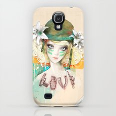 War girl Galaxy S4 Slim Case