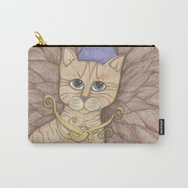 Ginger Angel Cat Carry-All Pouch