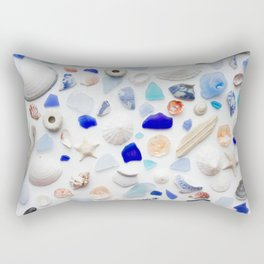 Beach Finds Rectangular Pillow