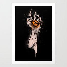born Art Print