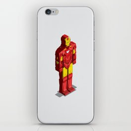 Ironman - Isometric Heroes iPhone Skin